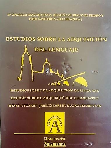 IV Congreso Internacional sobre la Adquisición de las lenguas del Estado.